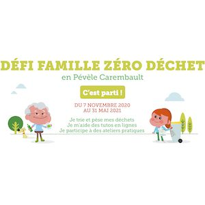 Bannière défi famille zéro déchet
