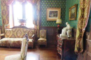 Salon du château d'Hardelot