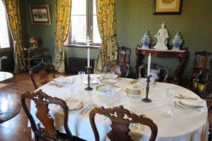 Salle à manger du château d'Hardelot