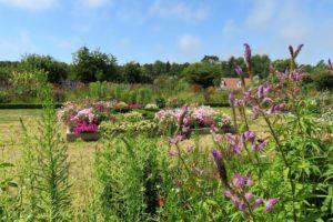 Jardins fleuris du château d'Hardelot