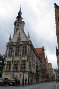 Façade à Bruges
