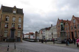 Place Jan van Eyck à Bruges
