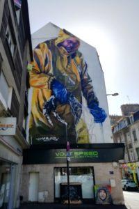 Street art par Jarus