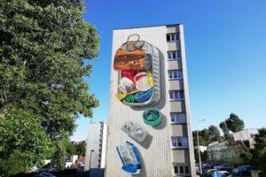 Street art par Leon Keer