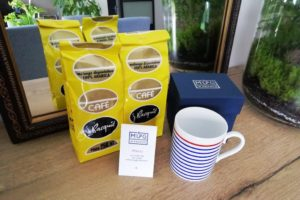 Tasse Mug in France, made in France et sachets de café Bacquié