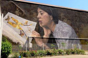 Street art par Mantra et Love.