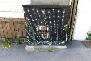 Coffret électrique par Florian Lajouanique