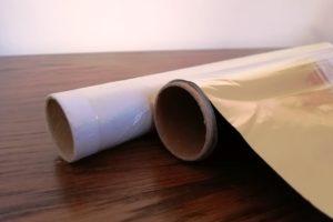Film alimentaire et papier aluminium
